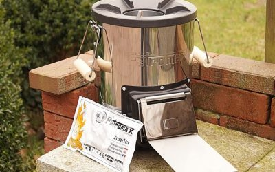 Petromax Rocket Stove Test