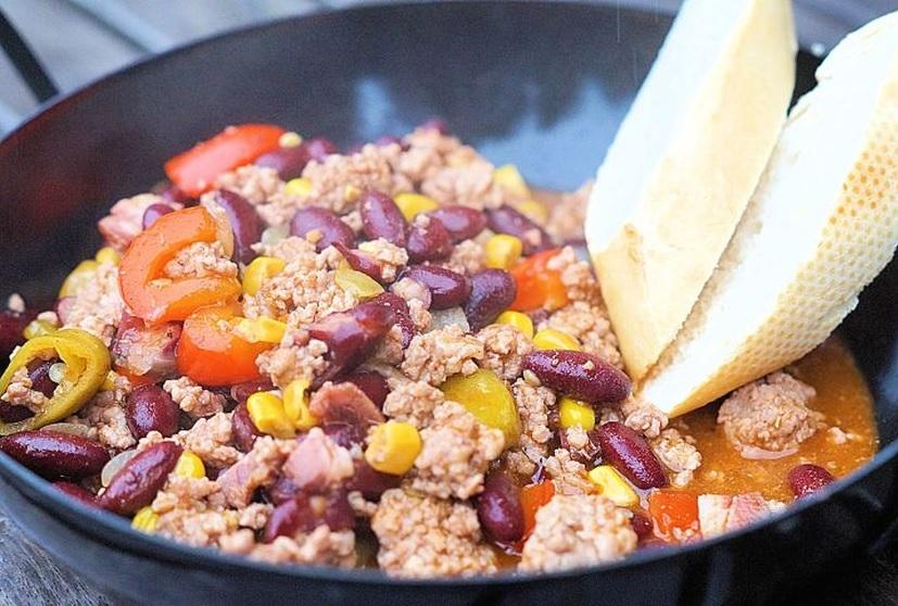 Chili aus dem Dutch Oven