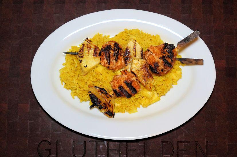 Chicken Curry Tikka Tandoori mit Reis
