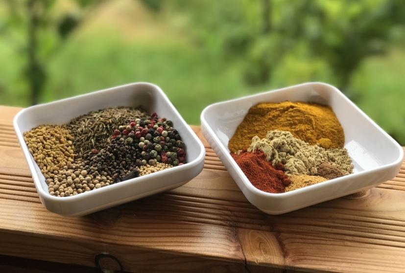 Curry selber mischen