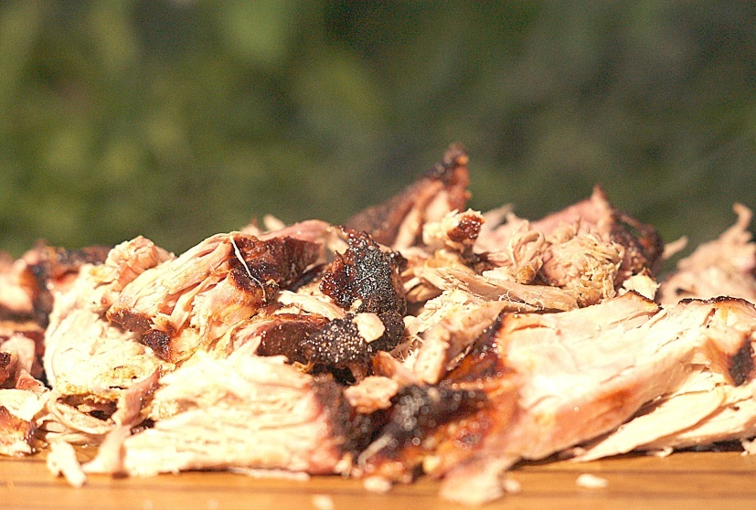Pulled Pork vom Smoker
