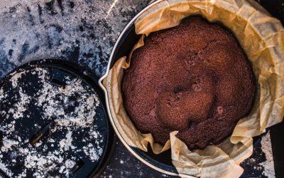 Dutch Oven Brownie