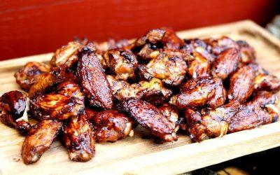 Chicken Wings vom Weber