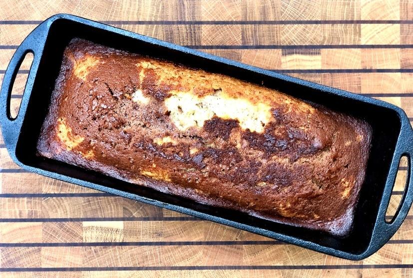 Marmorkuchen aus dem Dutch Oven