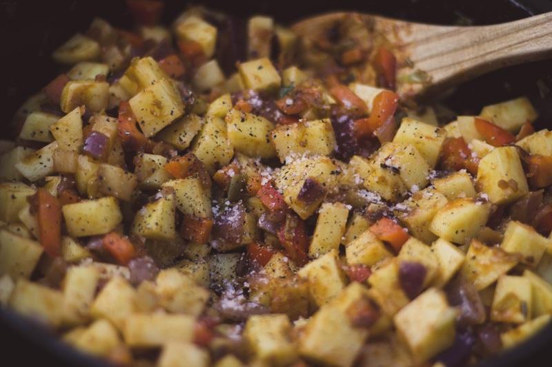 Vegetarisches Kartoffelgulasch