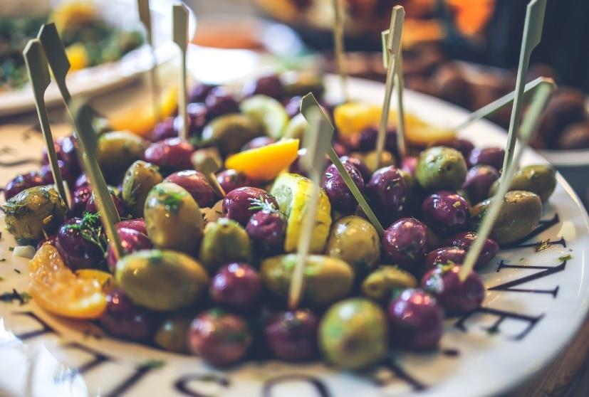 Oliven Snacks